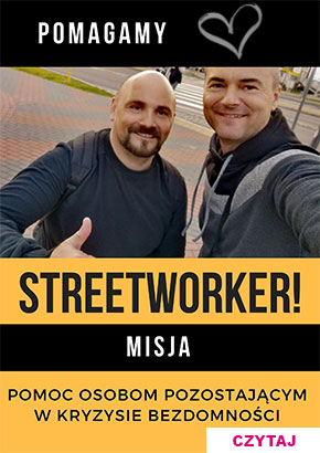 Streetworker Ostrołeka Mariusz Łuba i Andrzej Zapert